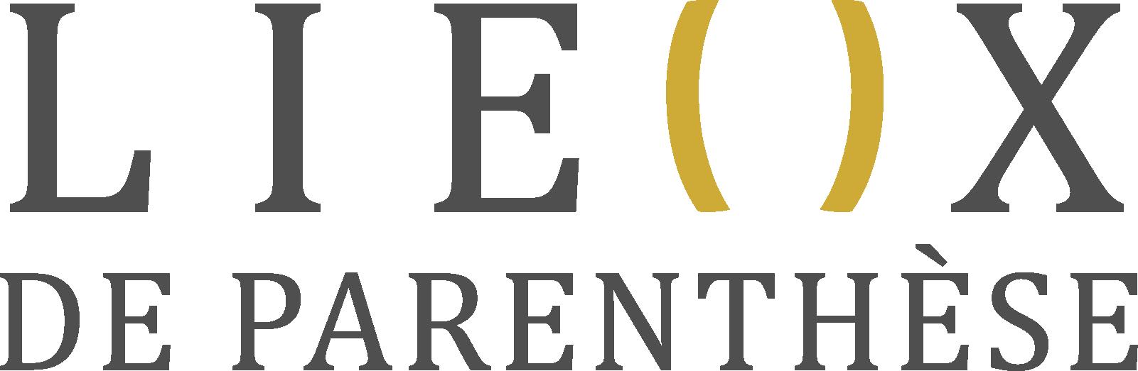 Logo Lieux de Parenthese